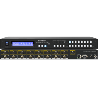 SB-5688LCM (1.3) 8x8 HDMI Matrix Switcher