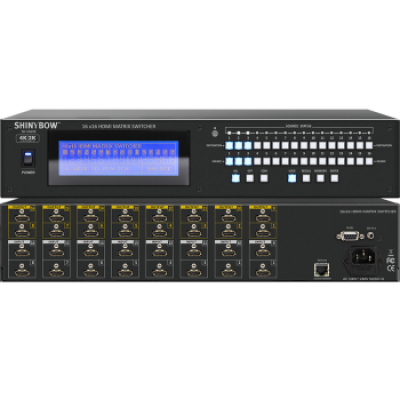 SB-5669K (4K) 16x16 HDMI Matrix Switcher