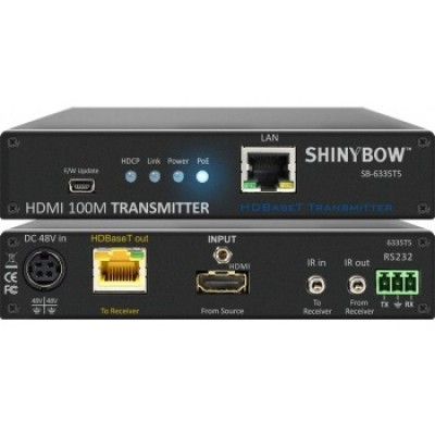 SB-6335T5 | SB-6335R5 HDMI HDBaseT Extender (PoH)