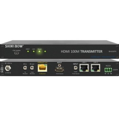 SB-6320T4 | SB-6320R4 HDMI HDBaseT Extender with Auxiliary Audio