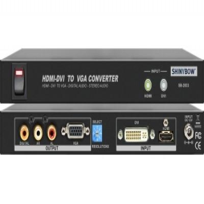 AUDIO CONVERTER SB-2833 HDMI | DVI To VGA | DIGITAL