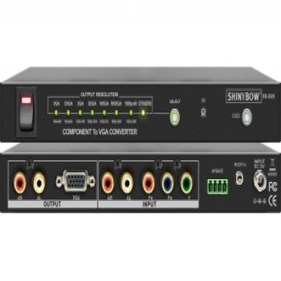 CONVERTER SB-2834 VIDEO And S-VIDEO To COMPONENT
