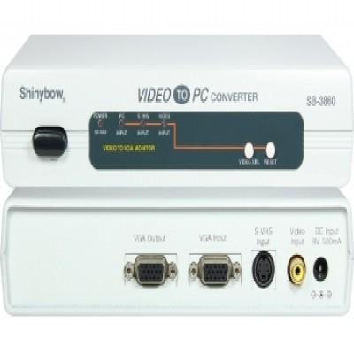 Video CONVERTER SB-3860 PC-VGA To NTSC|PAL