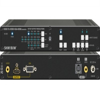 SB-3685 Video To HDMI Scaler Switcher