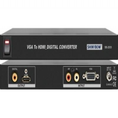 CONVERTER SB-2835 VGA To HDMI