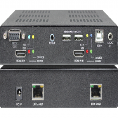 SB-6182T|SB-6182R DUAL-HEAD HDMI KVM with Audio CAT.6 Extender