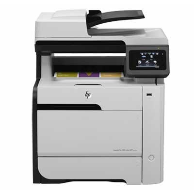 HP LaserJet Pro 300 Color MFP M375NW Printer ( in, scan, copy, fax)(CE903A)
