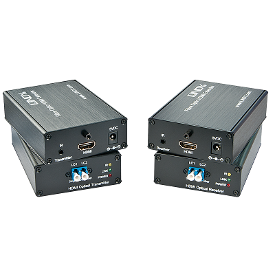 LINDY 38063 - Fibre Optic HDMI 4K UHD Extender, 700m 3km