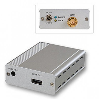 LINDY 38198 - 3G SDI to HDMI Converter, Extender