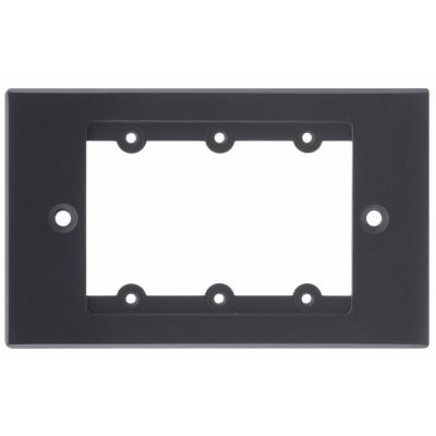 Frame for Wall Plate Inserts - 1 Gang Kramer FRAME-1G