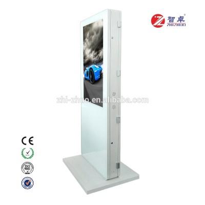 Kiosk màn hình đôi cảm ứng digital signage 55 Inch