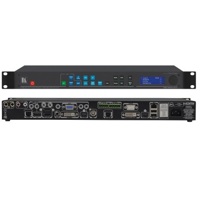 Presentation Switcher | Scaler with Ultra–Fast Input Switching And H.264 Streaming VP-796ASV
