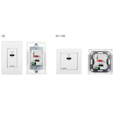 4K HDR HDMI Wall–Plate Extender (EU, UK, US)