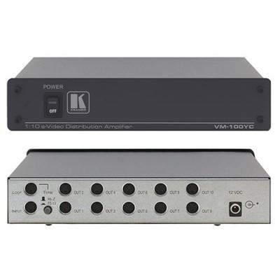 Bộ chia 1-10 và khuếch đại S-Video Kramer VM-100YC